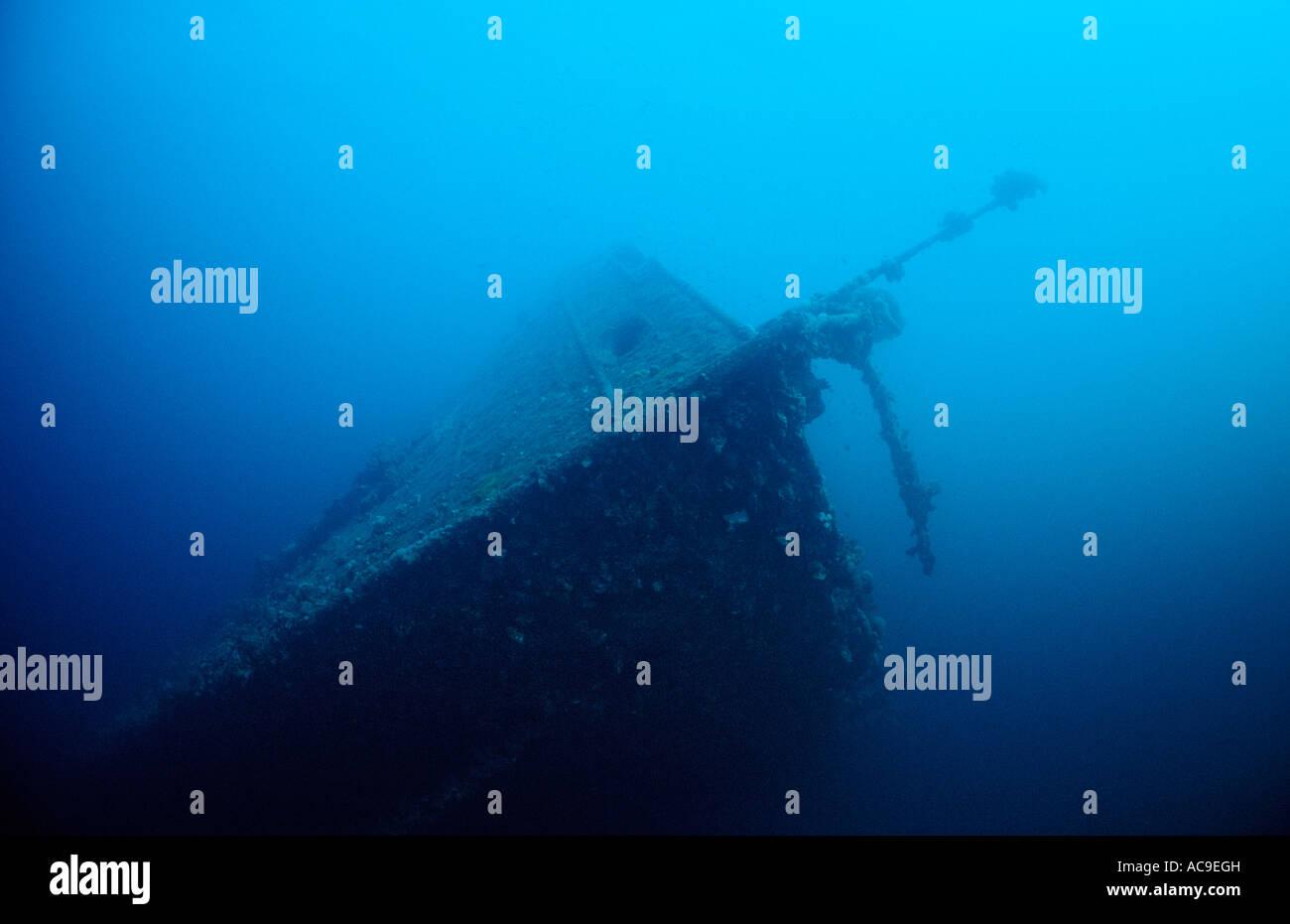 Naufragio Umbria Africa Sudan Red Sea Wingate Reef Immagini Stock