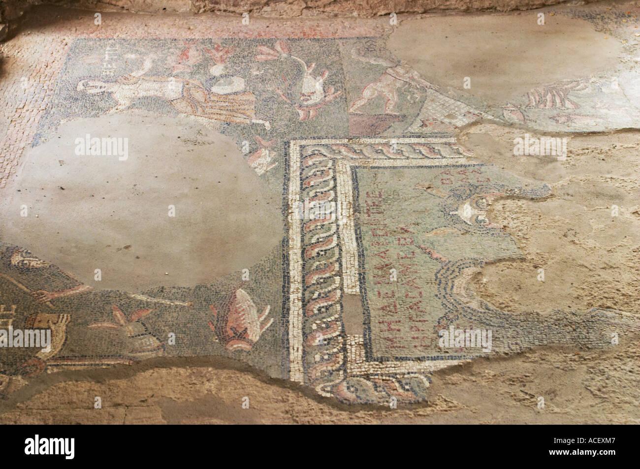 Armenia ad est di yerevan mosaico pavimento di piastrelle da bagno