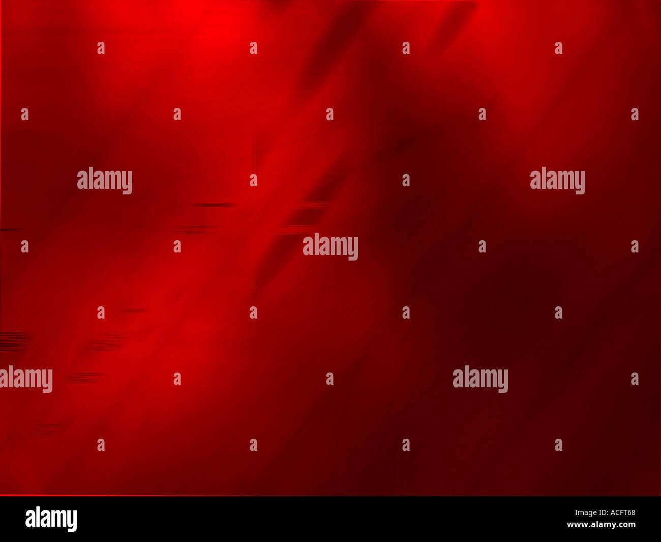 Calcolatore rosso generato design Immagini Stock