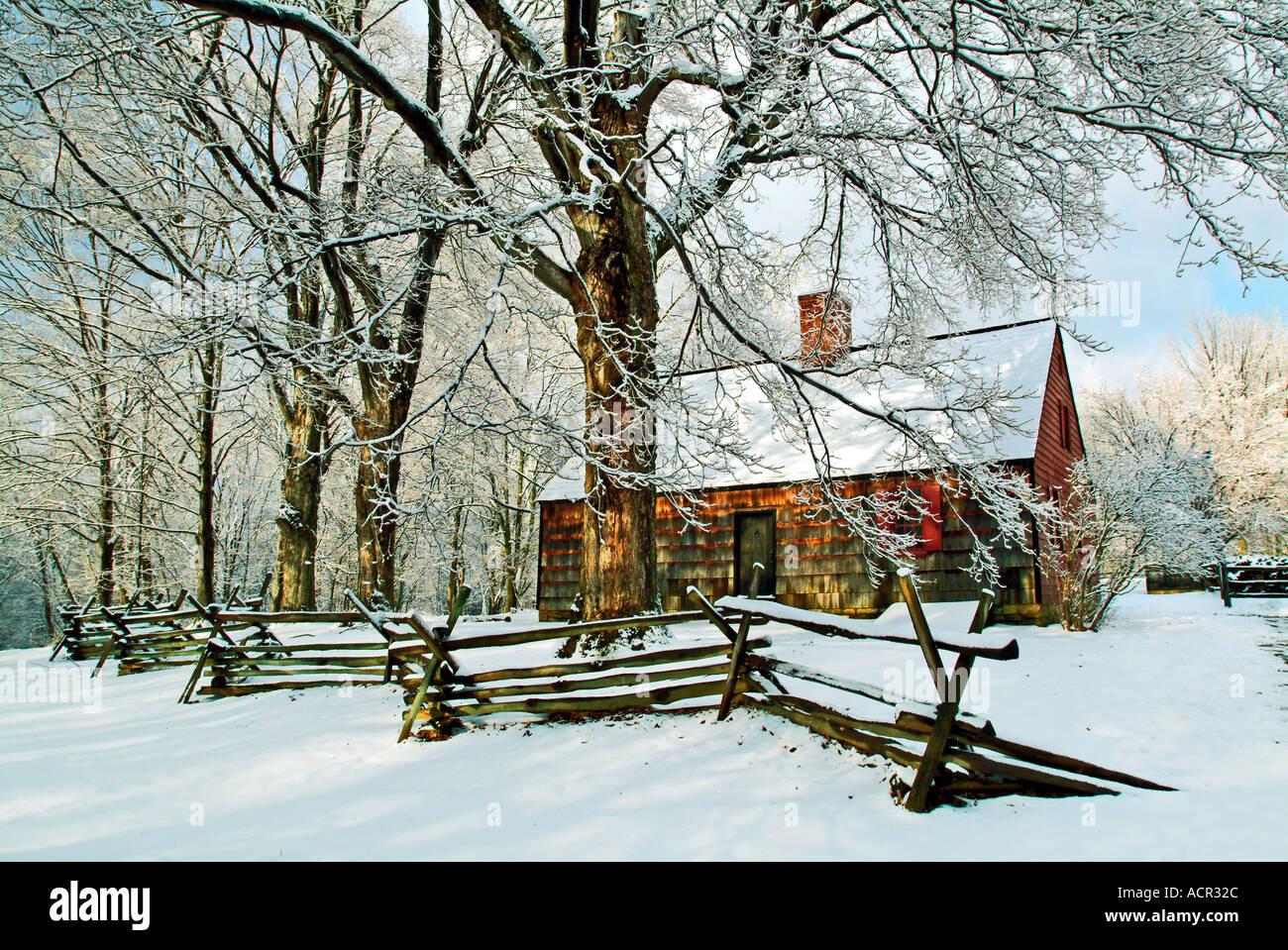 Tempe stoppino Casa cava Jockey National Historical Park New Jersey Immagini Stock