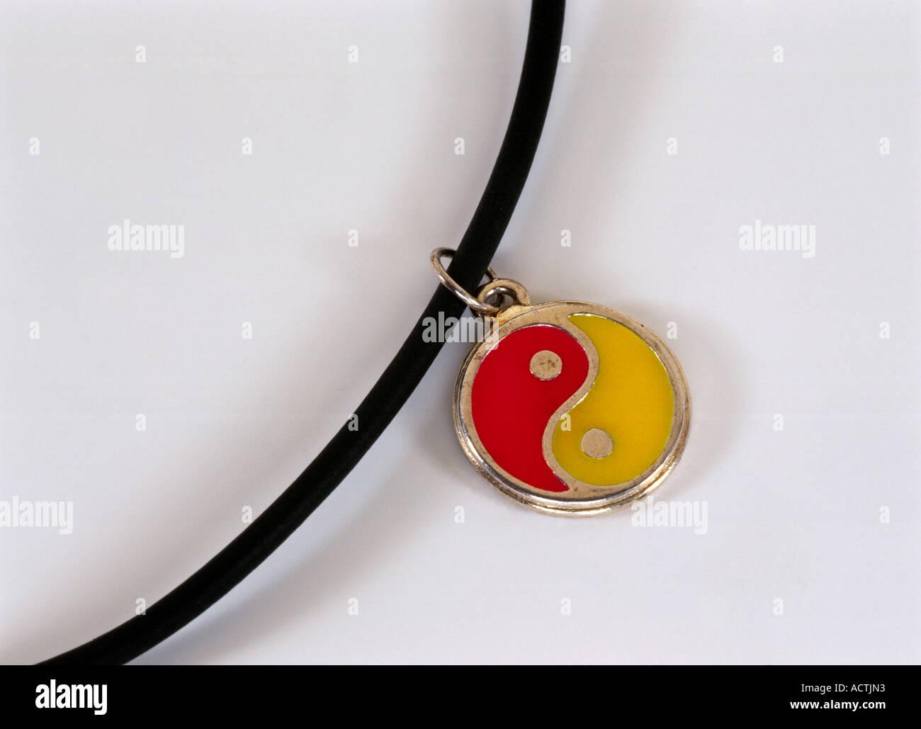Zen Ying Yang simbolo Taoismo Immagini Stock