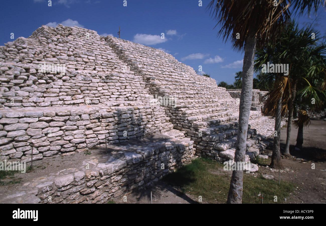 Xtambu Messico America Centrale Immagini Stock