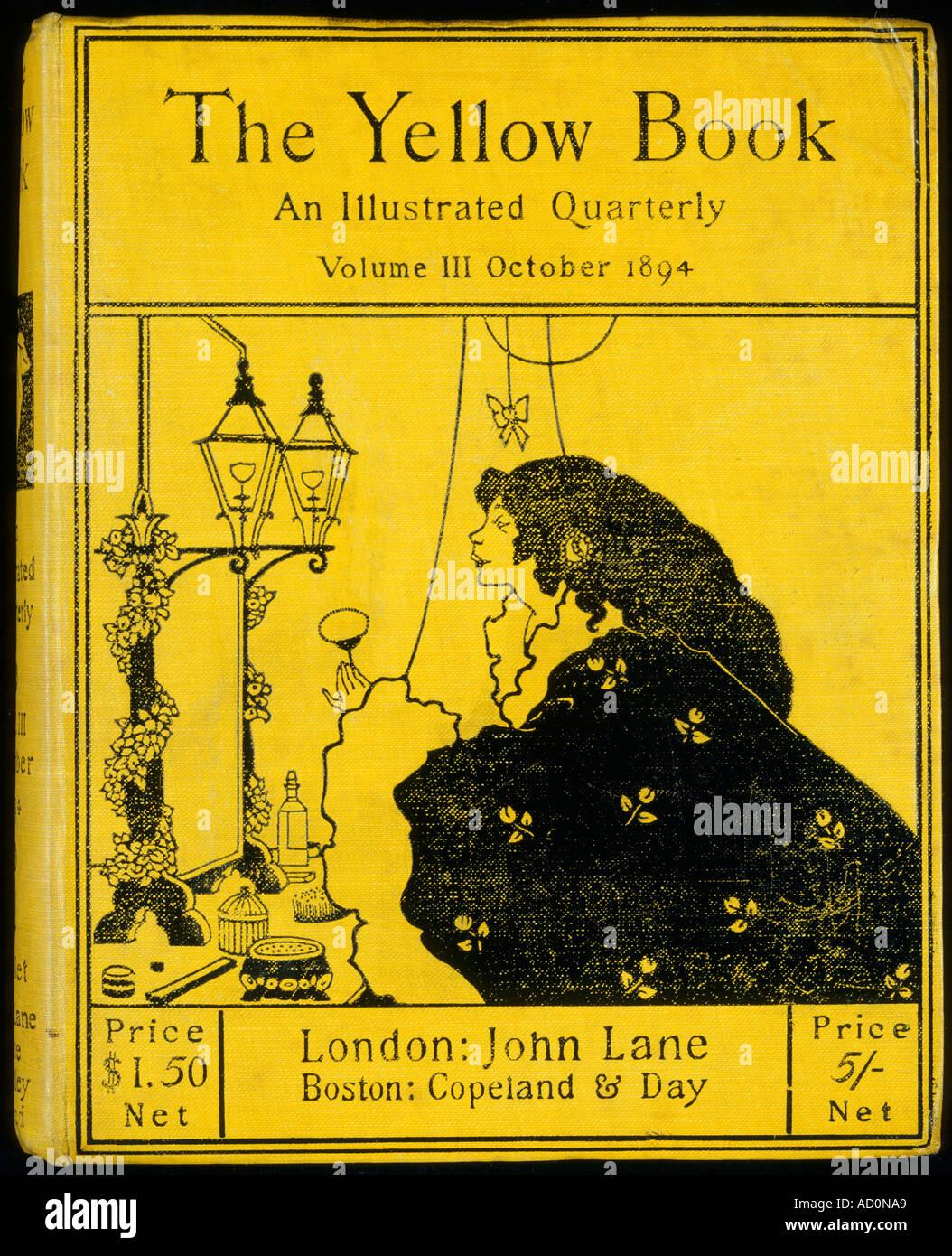 Il Libro Giallo vol III, da Aubrey Beardsley, 1872-1898. Londra, Inghilterra, xix secolo. Immagini Stock