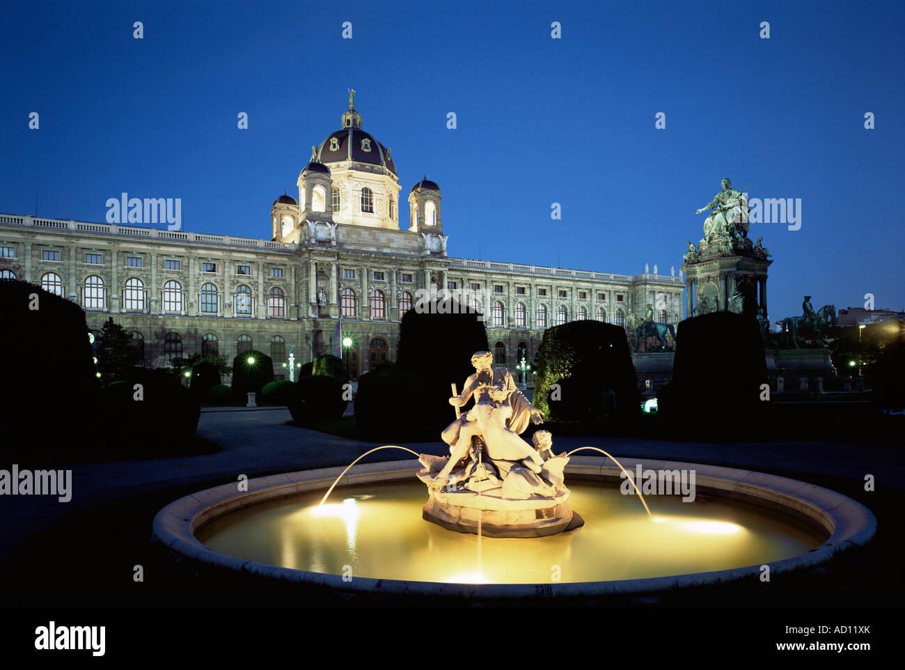 Museo delle Belle Arti, Vienna, Austria Immagini Stock