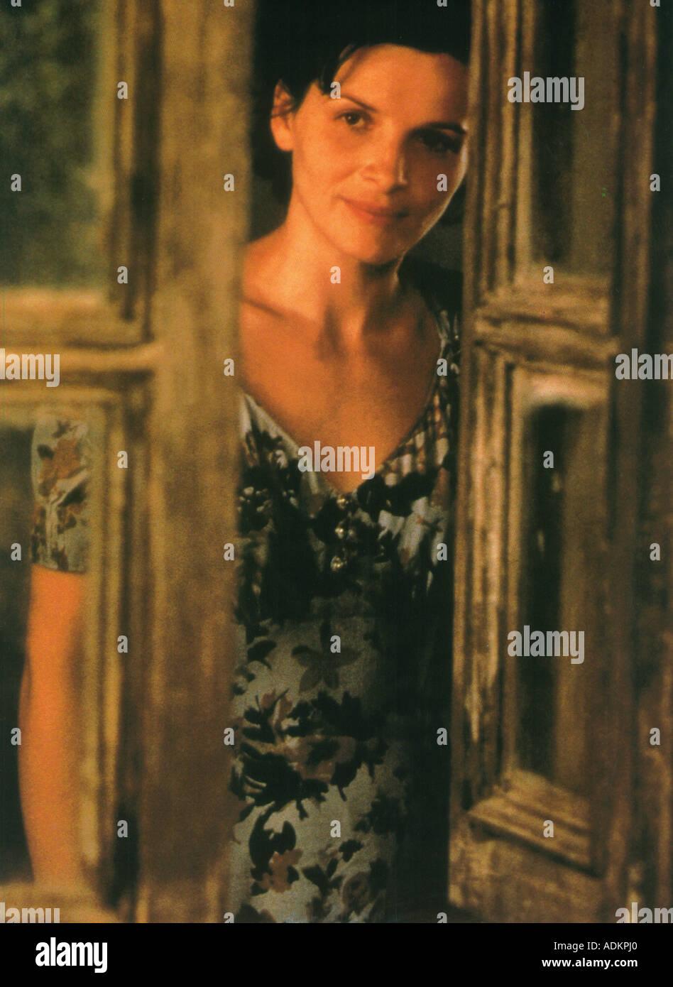 Il paziente inglese Juliette Binoche nel 1996 Buena Vista film Foto stock -  Alamy