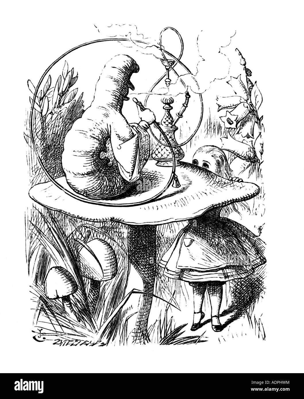 Illustrazioni Di Lewis Carroll S Alice Nel Paese Delle Meraviglie Da