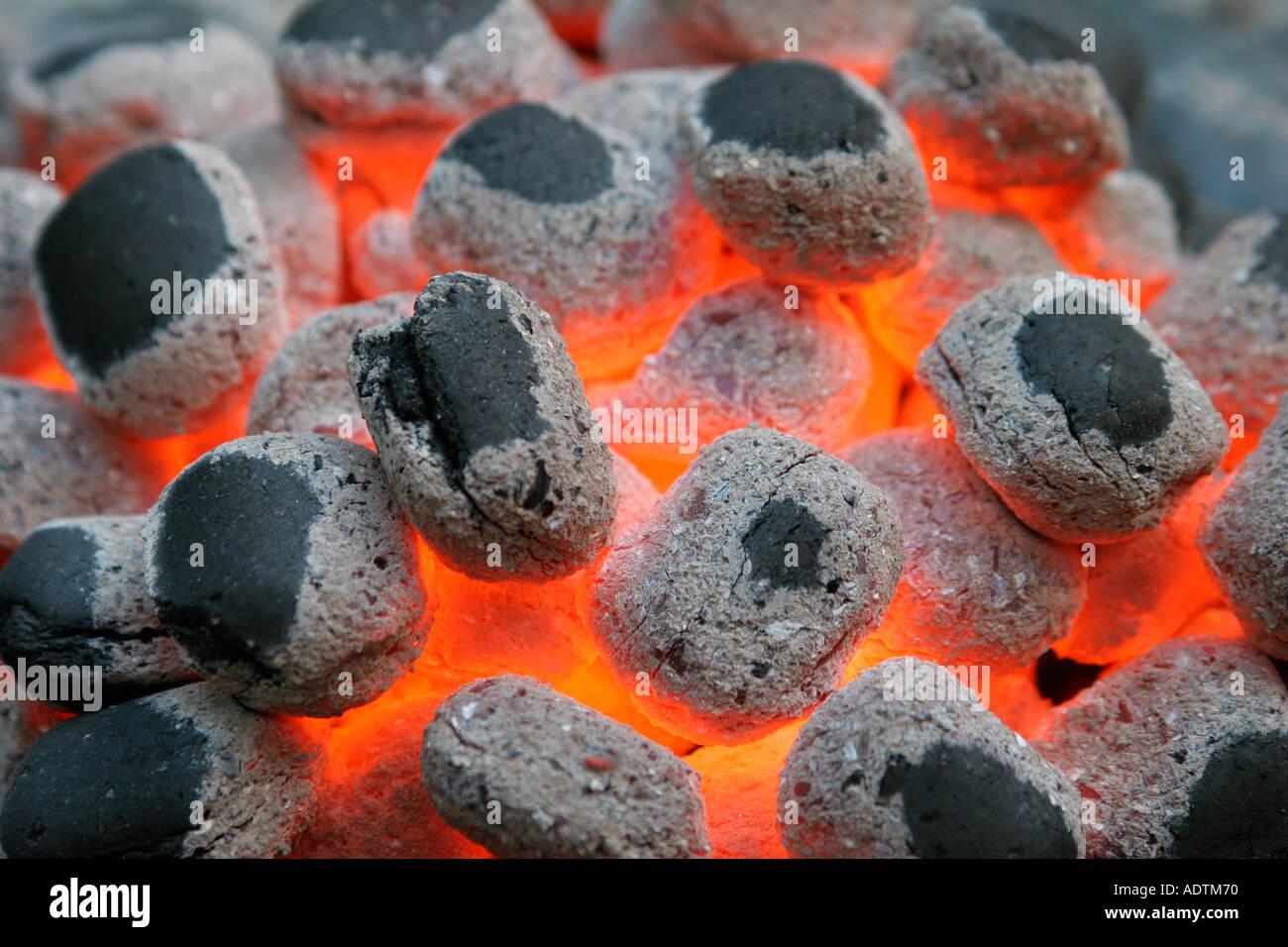 Tizzi - barbecue Immagini Stock