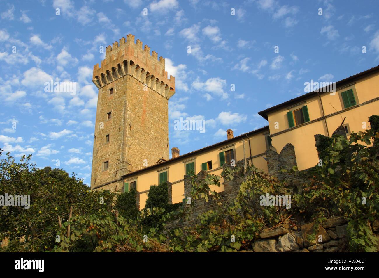 Il Palazzone di Cortona Italia Foto Stock