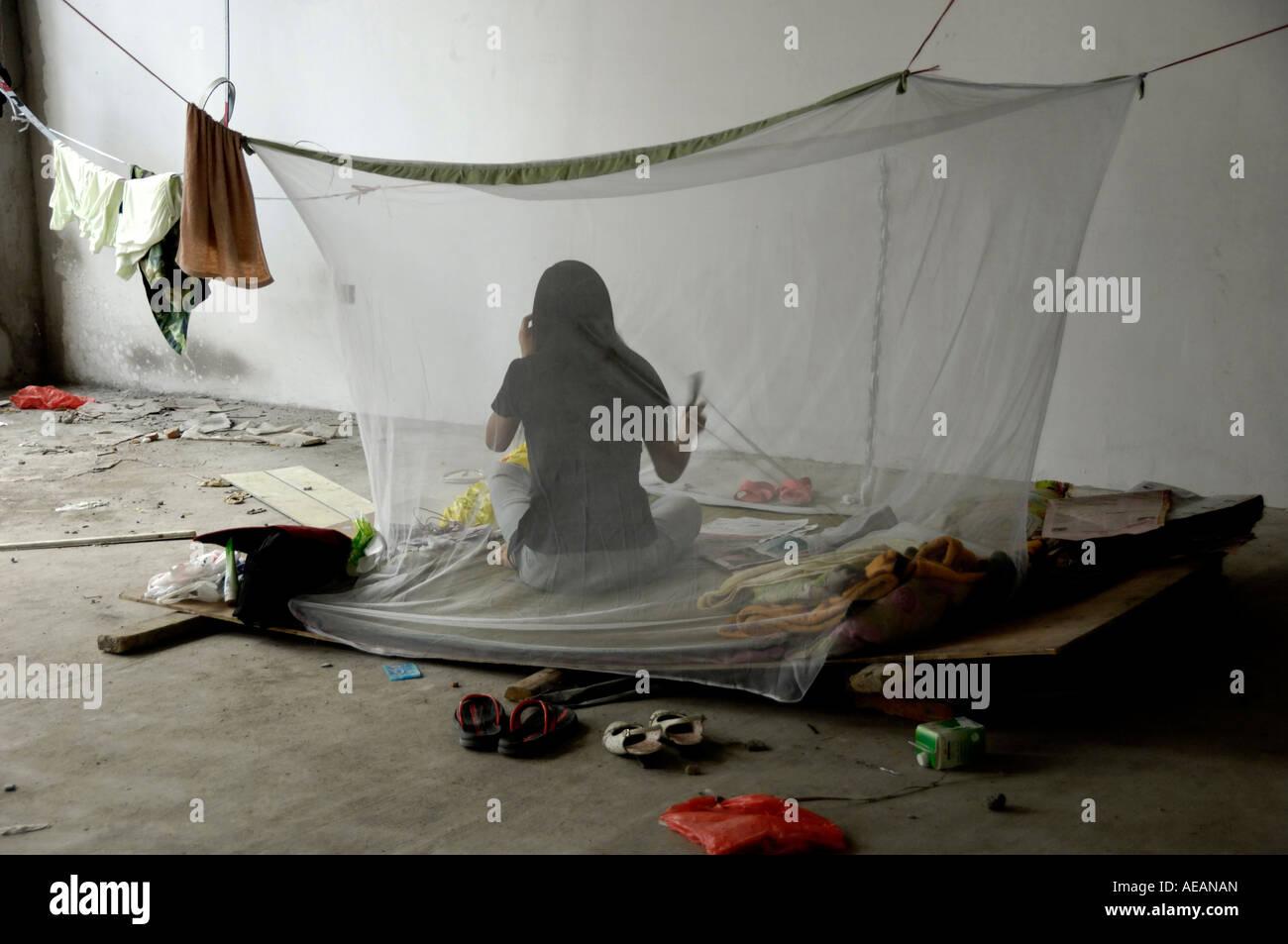 Mosquito net woman immagini mosquito net woman fotos for Sito web di costruzione di case