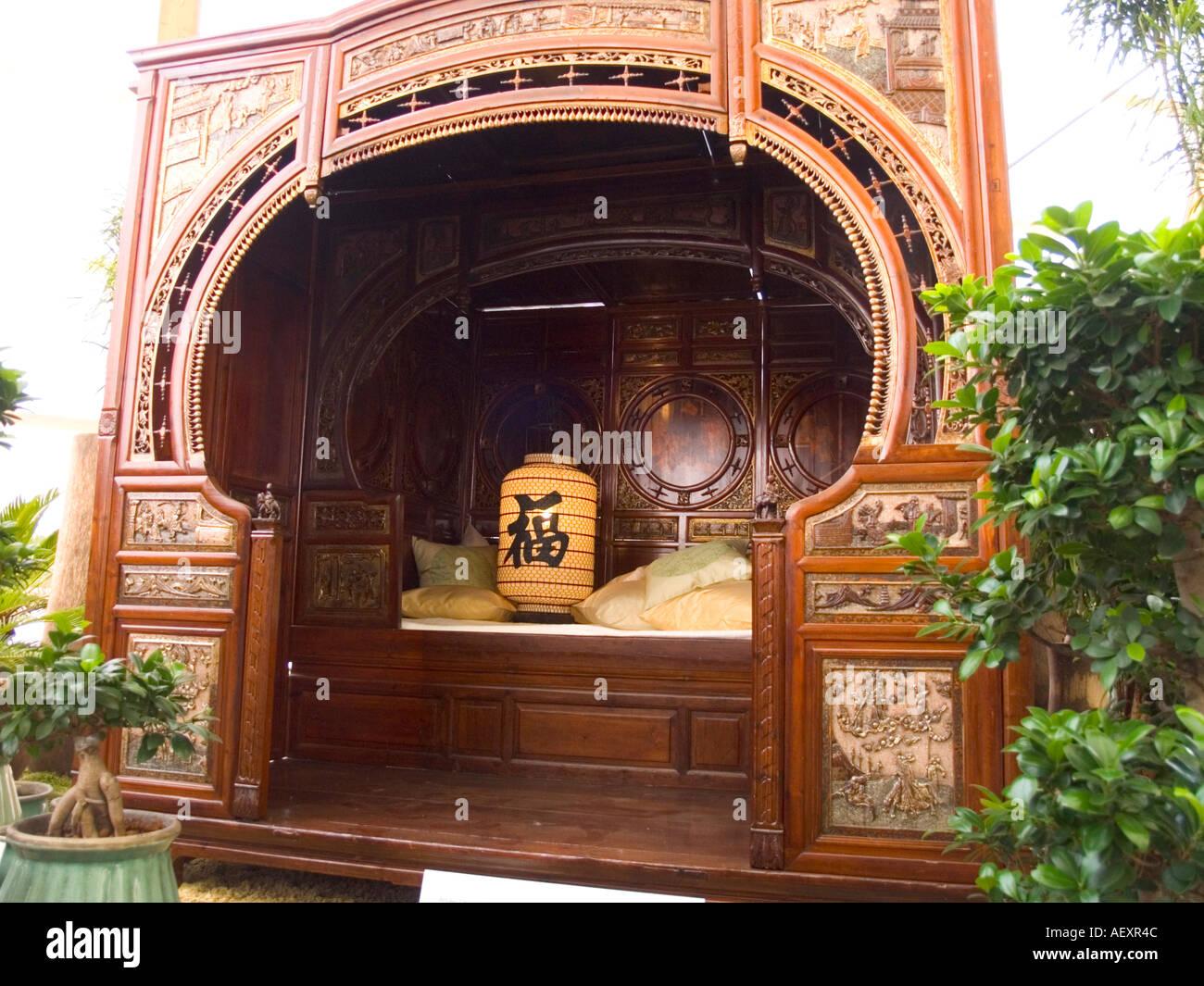 Cinese antico letto matrimoniale arredamento camera da letto in ...