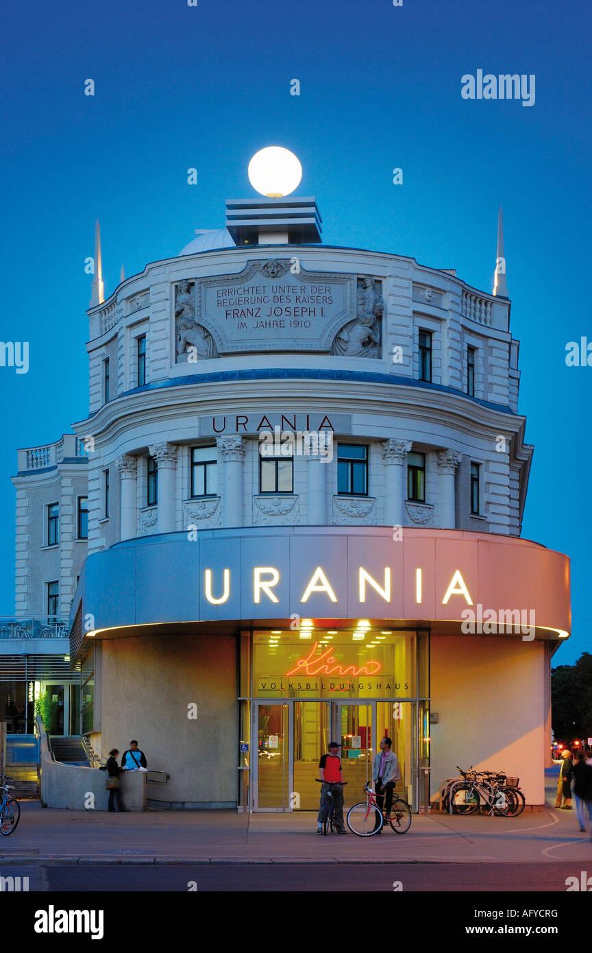 CINEMA di Vienna, Austria Immagini Stock