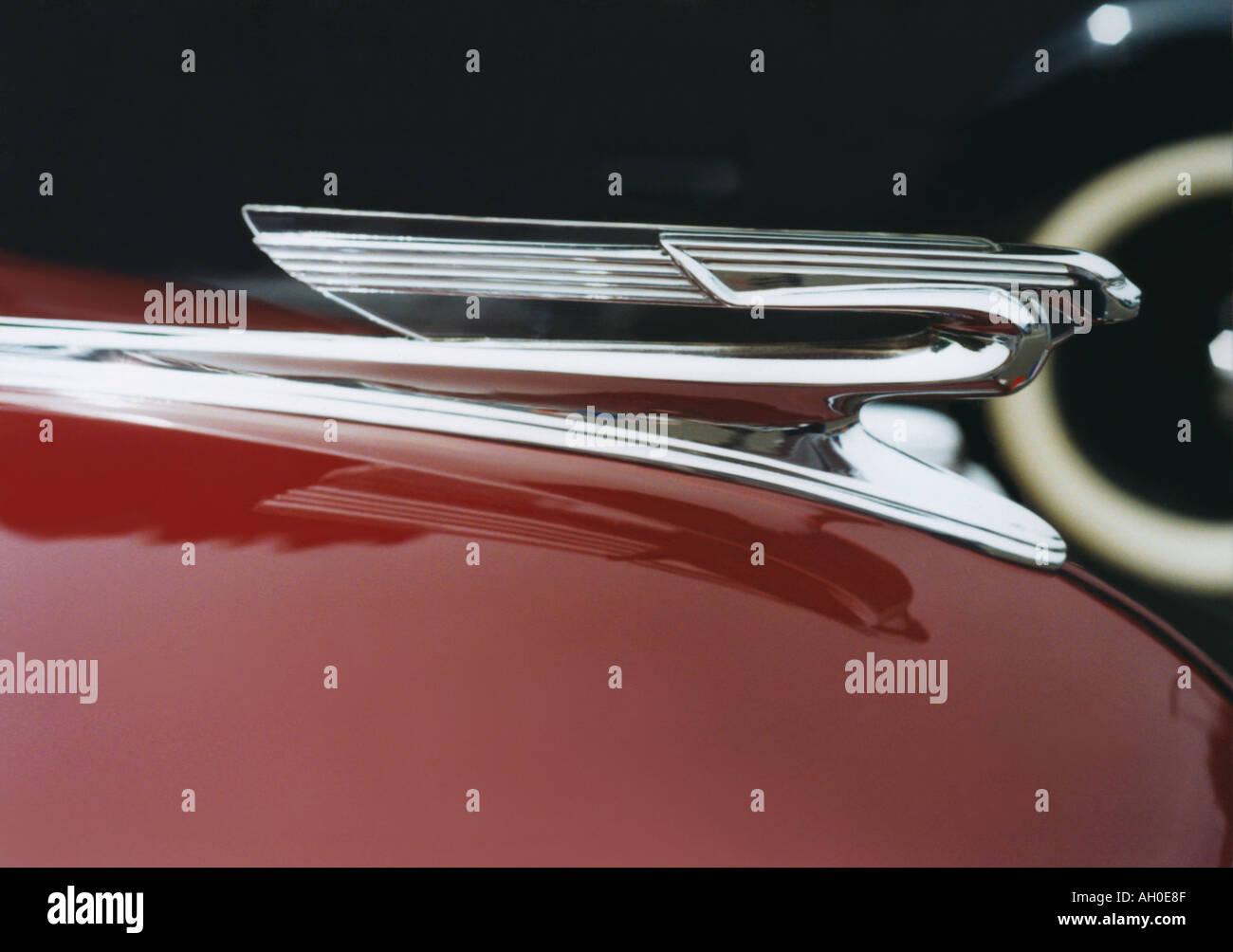 1940 Chevrolet ornamento del cofano Immagini Stock