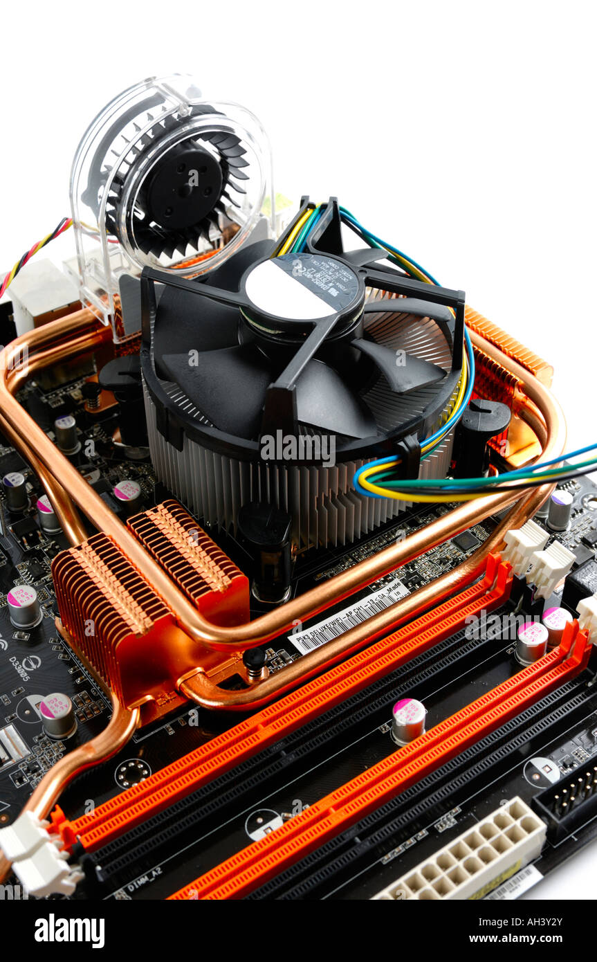 bello economico buona reputazione acquisto genuino Dissipatore di calore per CPU con ventola radiatore su una ...