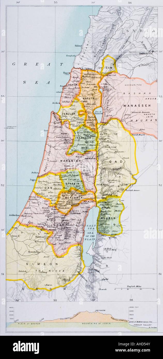 Cartina Muta Della Palestina.Mappa Della Palestina Immagini E Fotos Stock Alamy