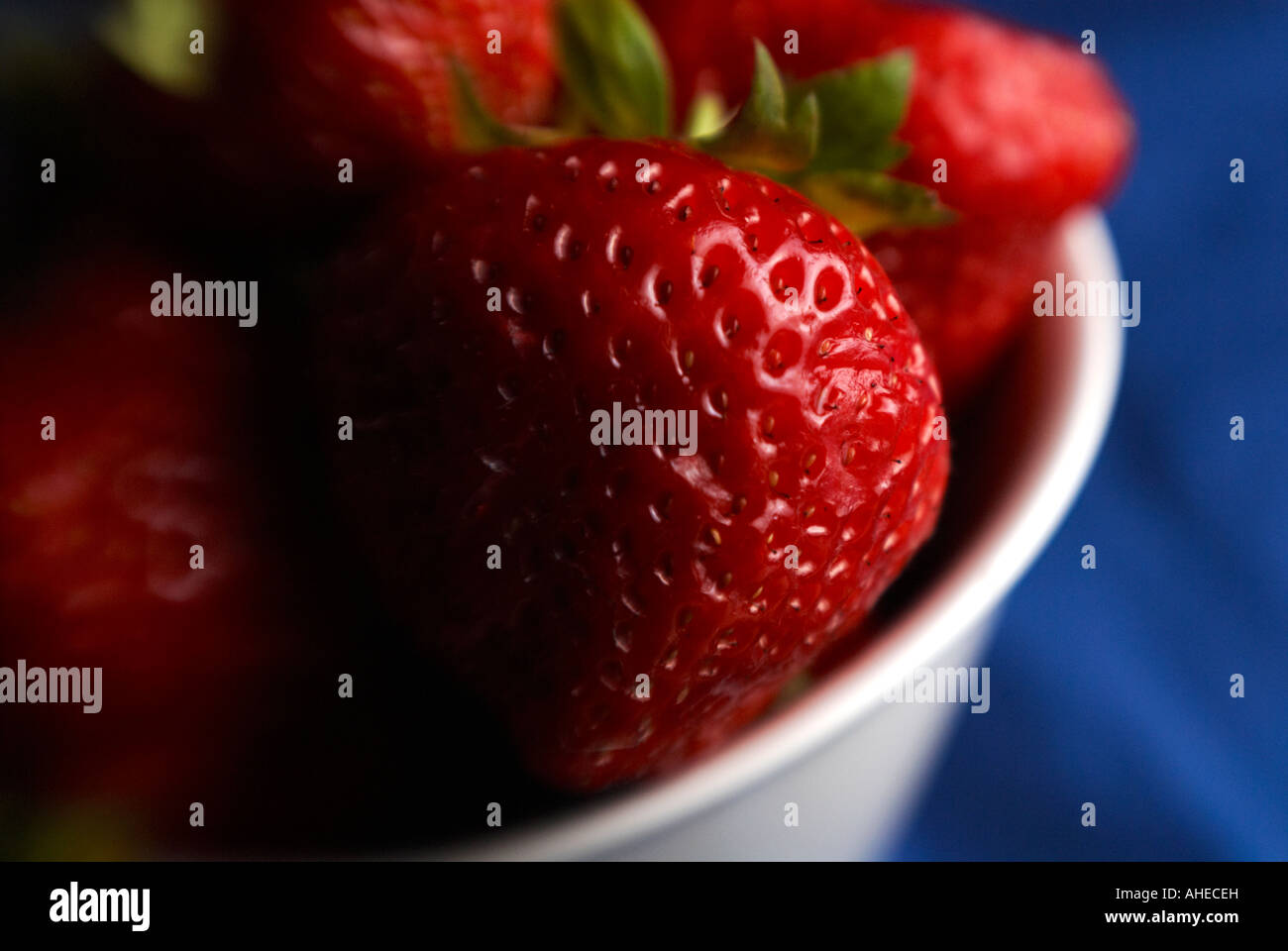 Fragole Foto Stock