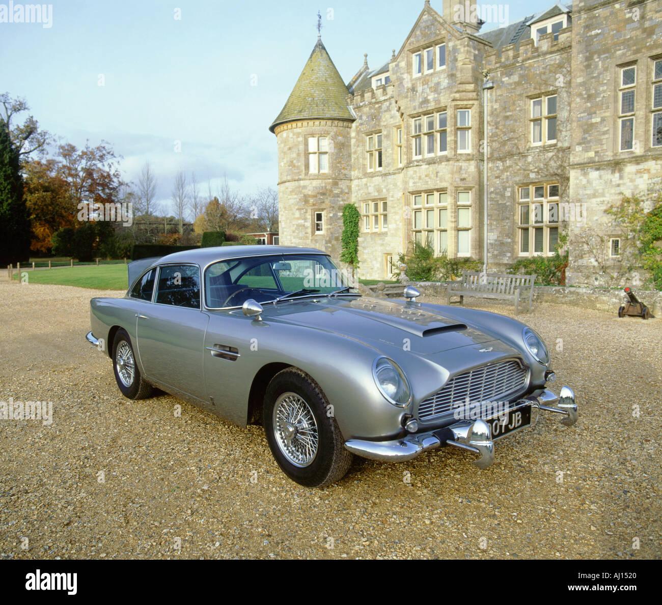 1965 Aston Martin DB5 James Bond Immagini Stock