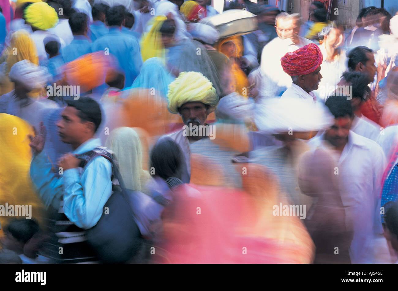 Pushkar Rajasthan in India Immagini Stock