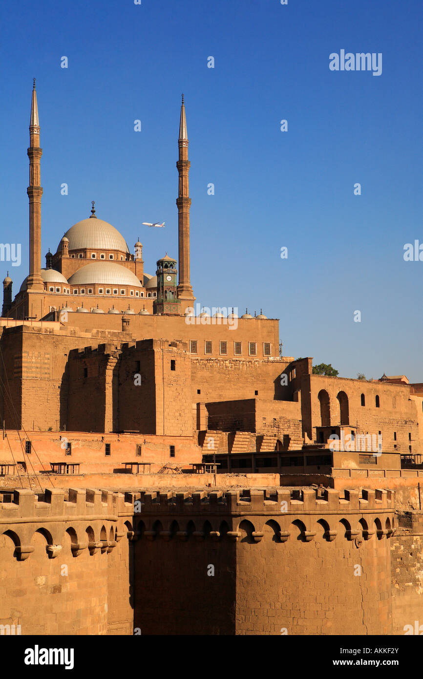 L'Egitto, al Cairo, Downtown, la cittadella Immagini Stock