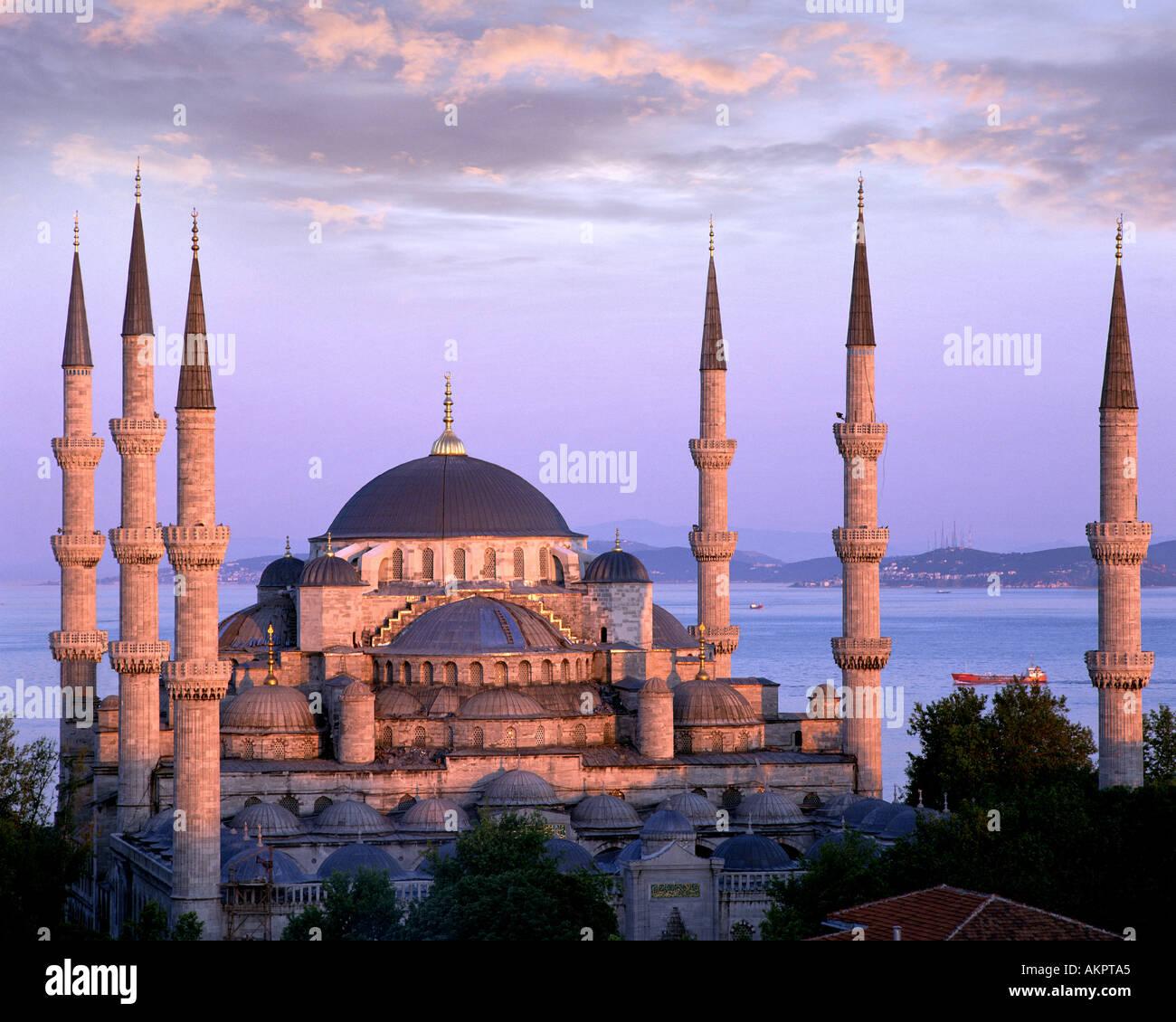 TY - Istanbul: la Moschea Blu Immagini Stock