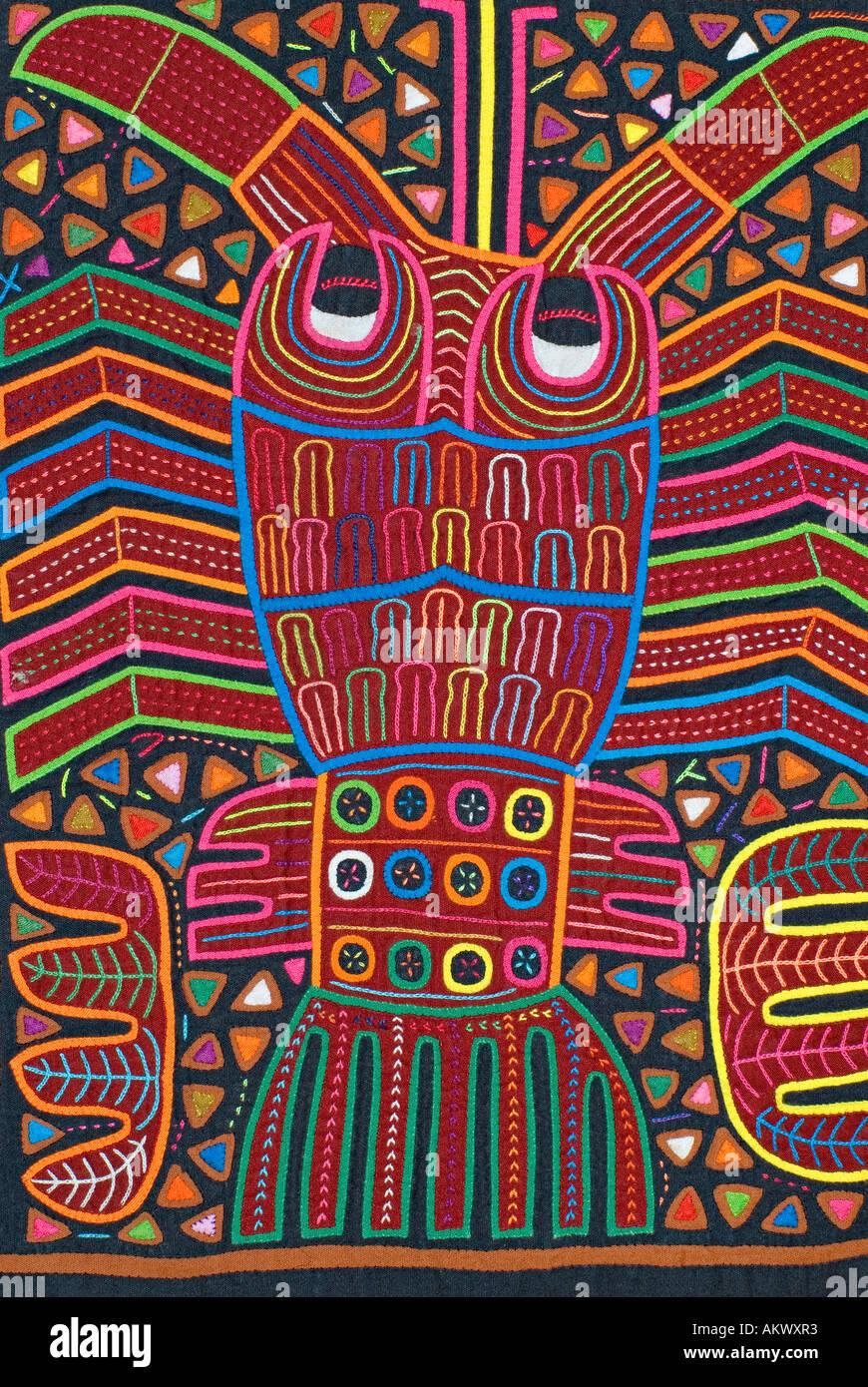 Applique decorazione applicata a bluse Molas s degli Indiani Kuna isole San  Blas Panama Lobster Pesce 8e04a20eea48