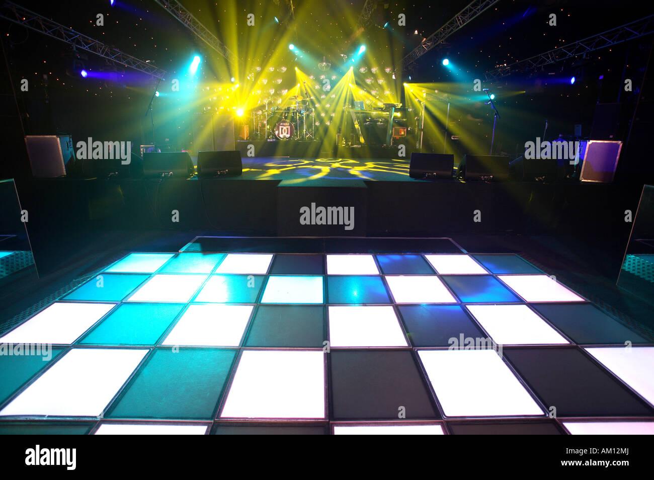 Discoteca dancefloor Immagini Stock