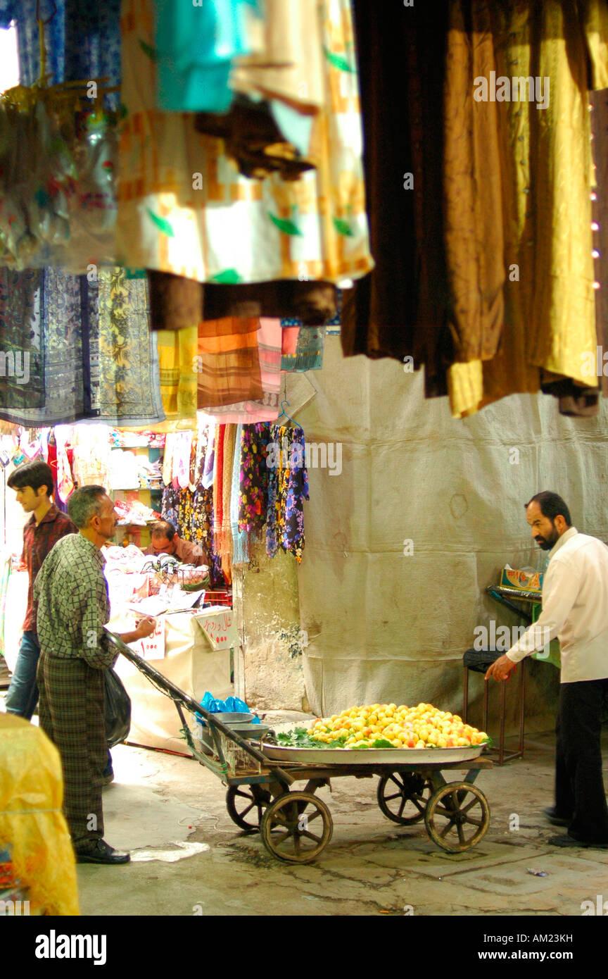 Bazaar SHIRAZ Iran Immagini Stock