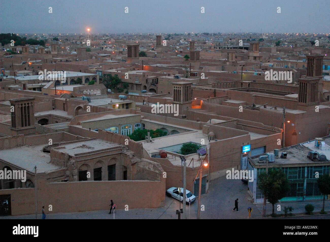YAZD Iran Immagini Stock