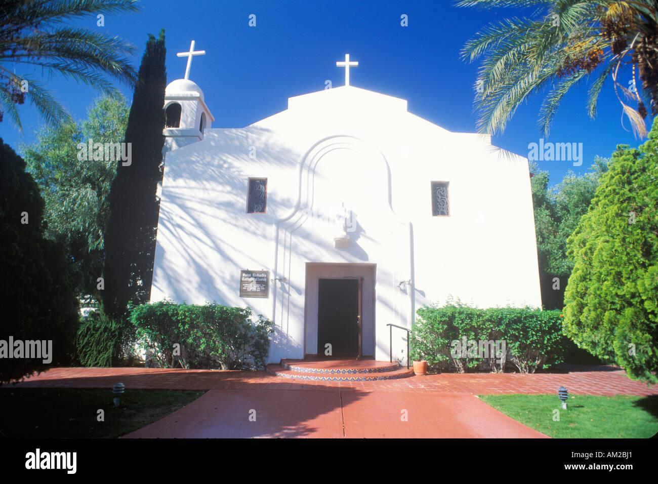Il San Luis missione regionale chiesa de Francia a San Diego in California Immagini Stock