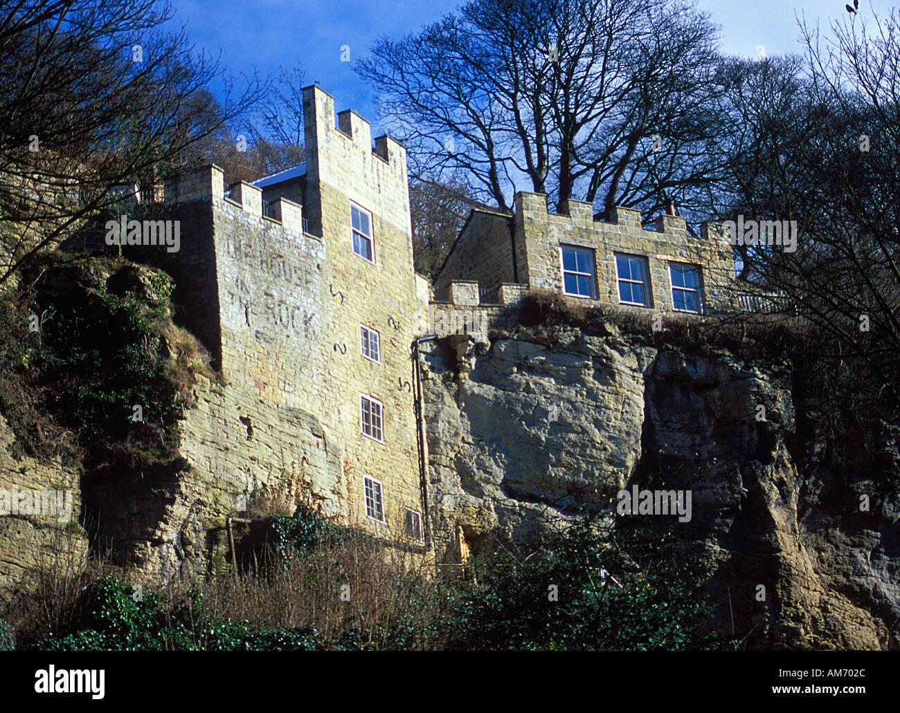 La Casa Nella Roccia.La Casa Nella Roccia Knaresborough Yorkshire Regno Unito Foto