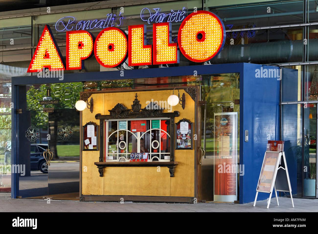 Varietà Teatro Apollo, Duesseldorf, NRW, Germania Foto Stock