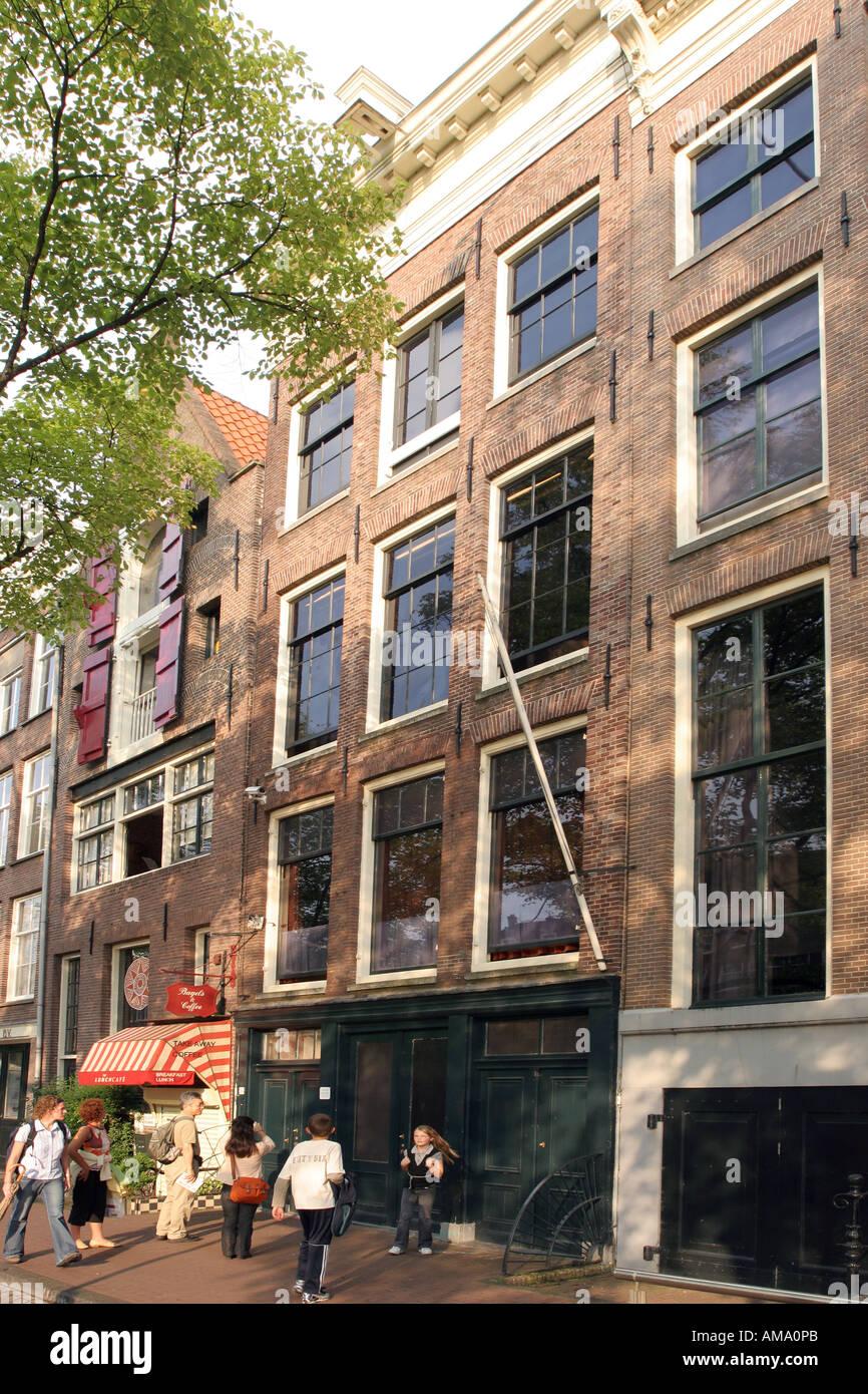 La casa di anne frank amsterdam foto immagine stock 8684138 alamy - Casa anna frank ...