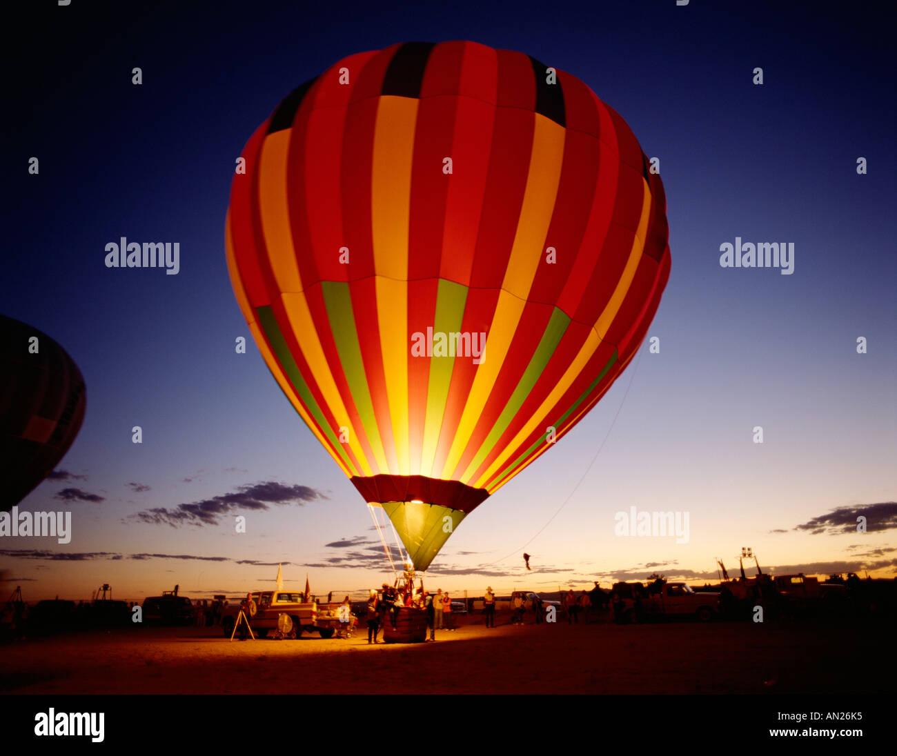 Albuquerque Balloon Fiesta di Albuquerque, Nuovo Messico, STATI UNITI D'AMERICA Immagini Stock