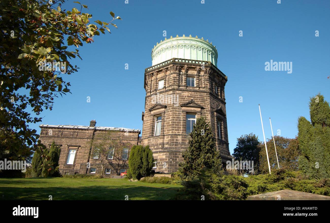 Il Royal Observatory Edinburgh Scozia uno del Regno Unito i principali centri di ricerca astronomica Immagini Stock