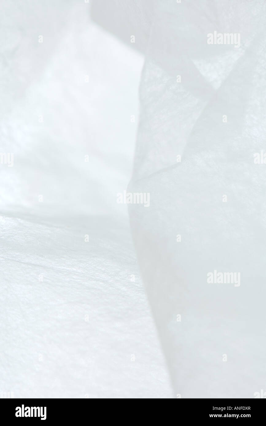 Materiale traslucido, extreme close-up Immagini Stock