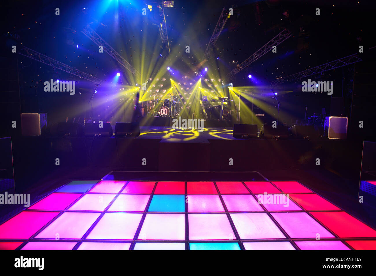 London nightclub dancefloor Immagini Stock