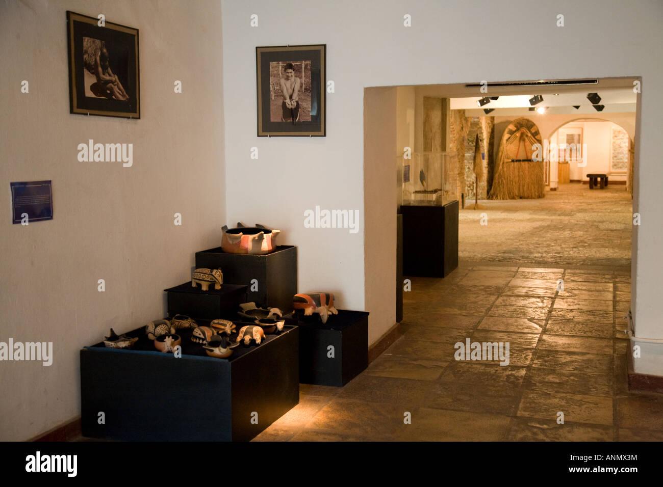 Il Museu de Archeologia e Museo di Etnologia, Salvador Bahia, Brasile Immagini Stock