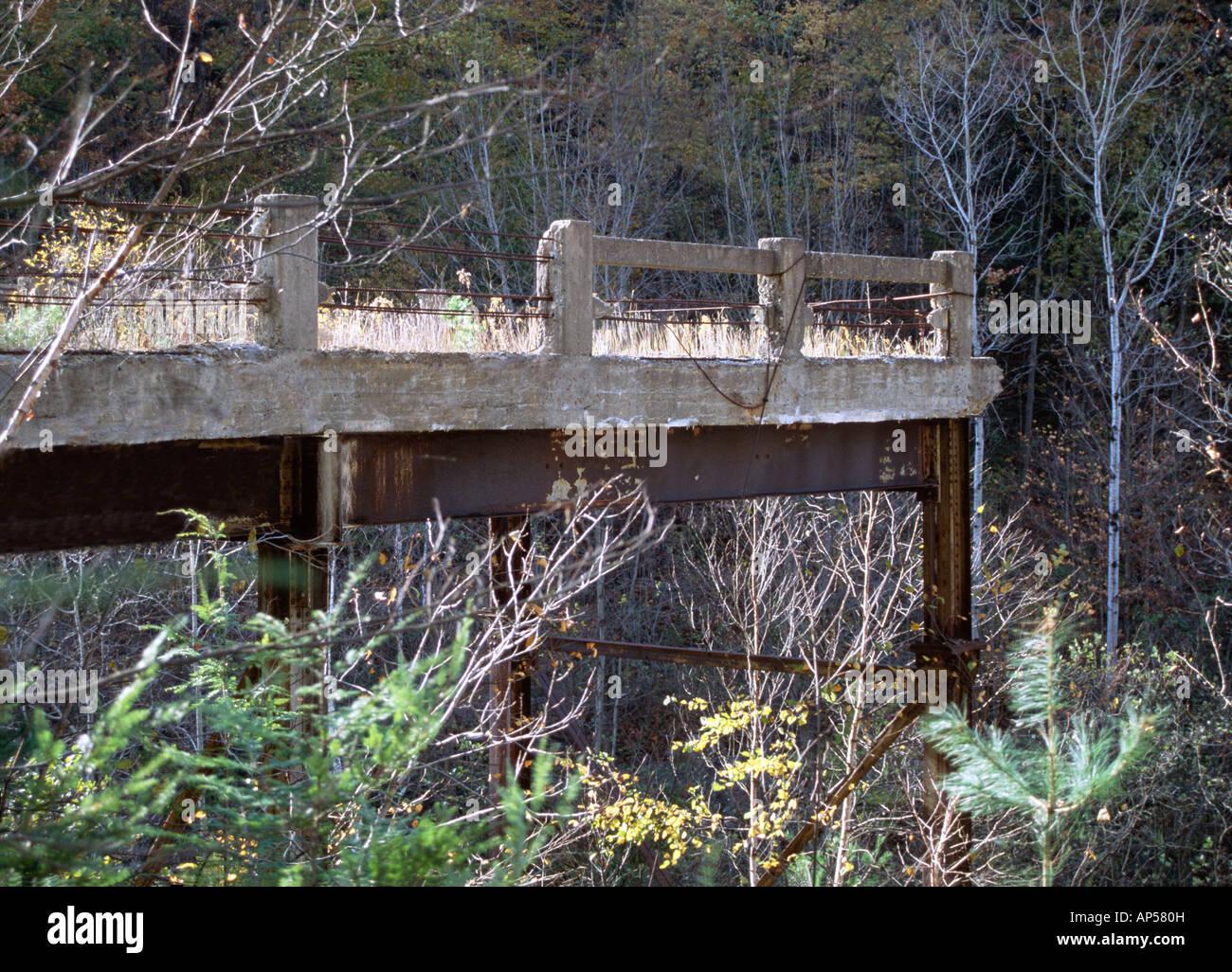 Bridge to Nowhere Immagini Stock