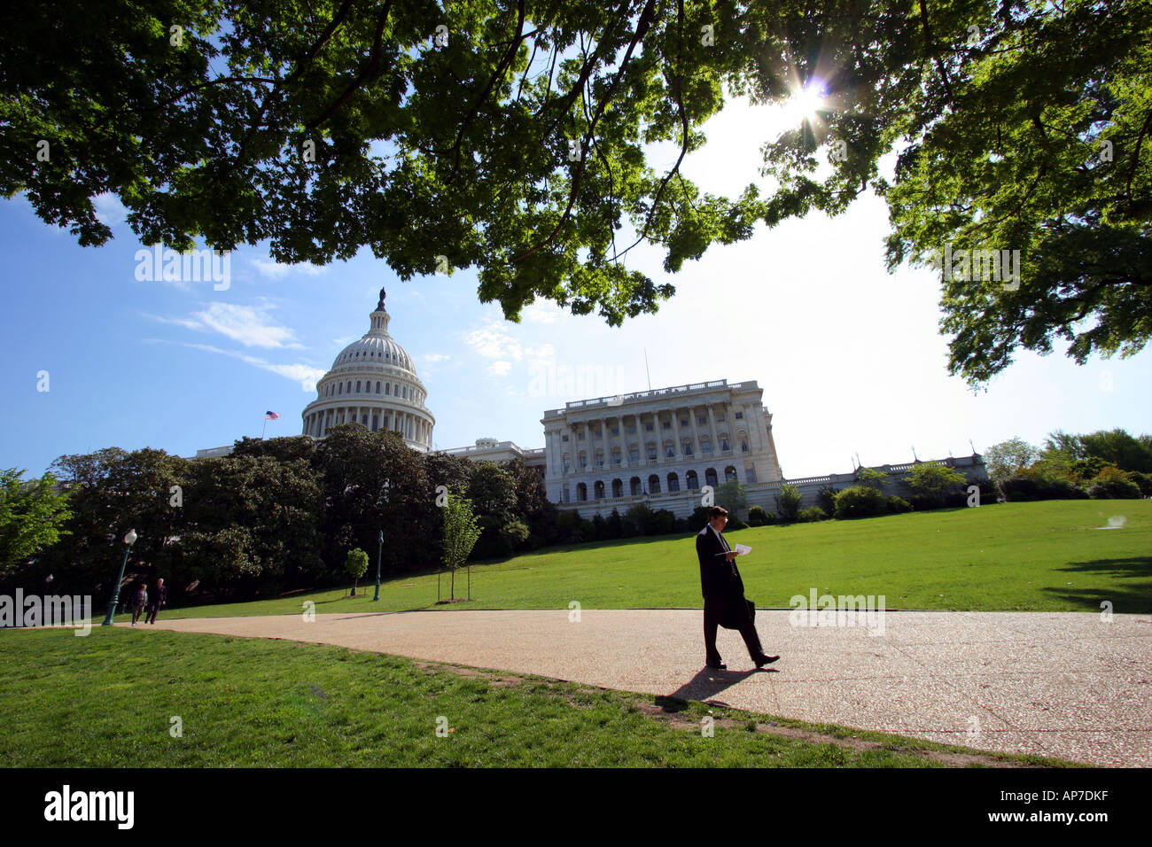 Noi Capitol, Washington DC Foto Stock