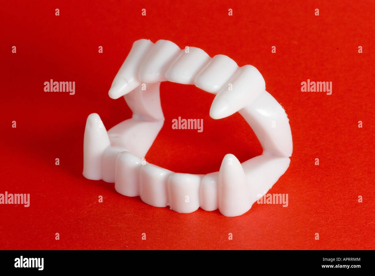 vampiro denti Immagini Stock