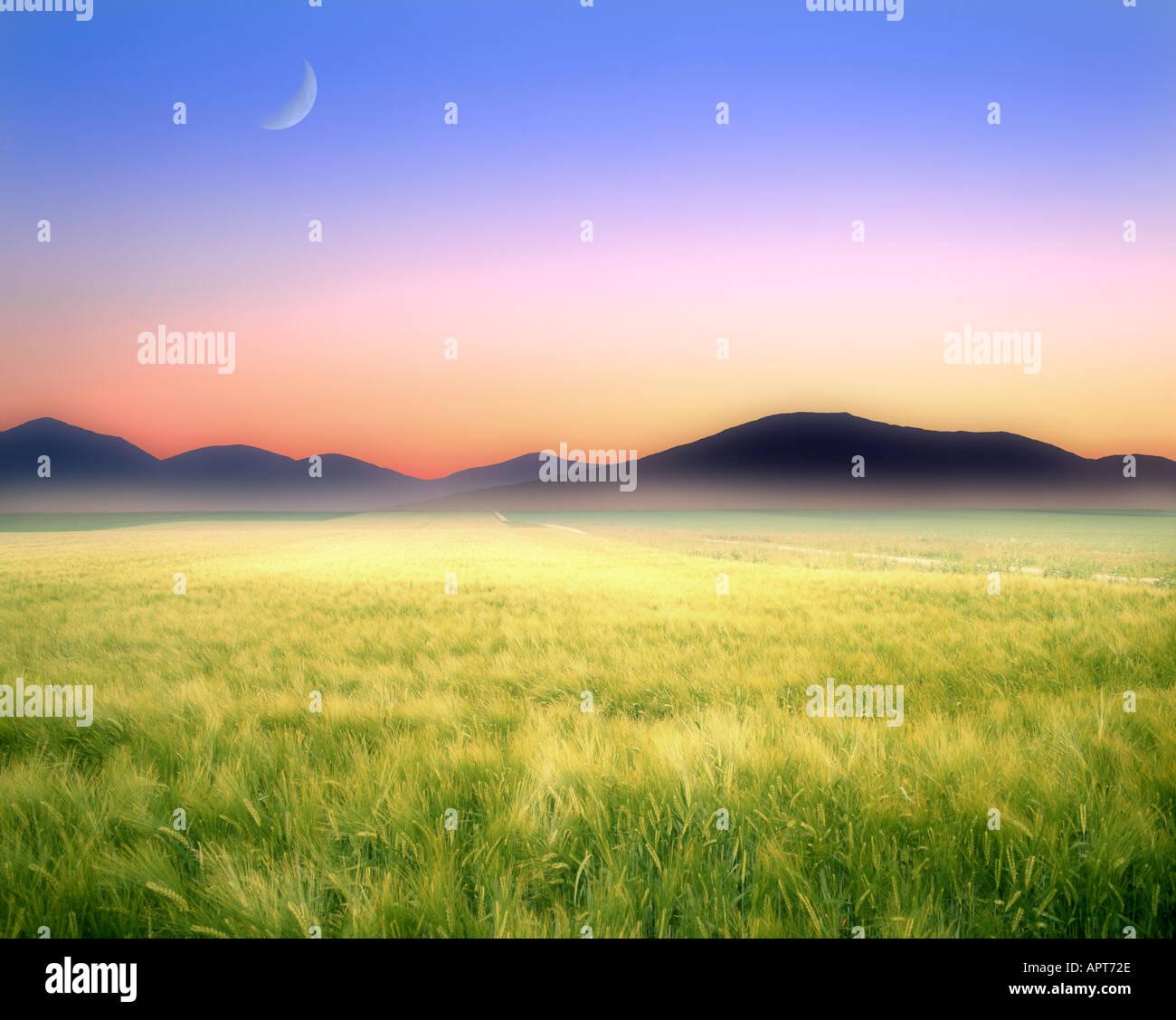 CH - NEUCHATEL: il paesaggio e le montagne del Giura vicino a St. Imier Immagini Stock