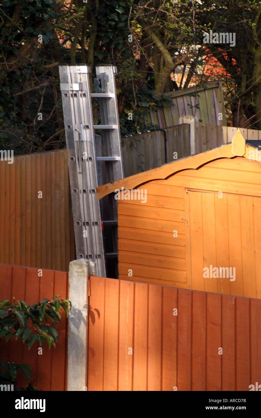 Recinzioni Per Giardino In Cemento.Giardino Sul Retro Vicini Di Casa Di Legno Pannelli Di Recinzione