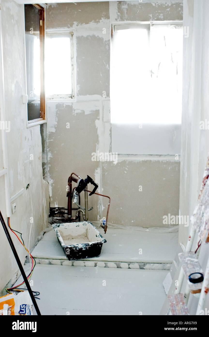 Miglioramento di casa, prima dei lavori di rinnovo in cucina di ...