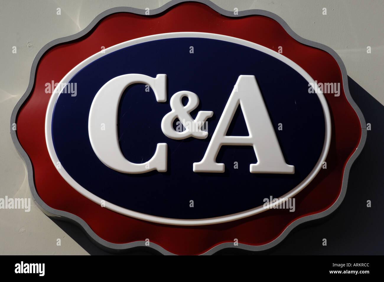ricco e magnifico fashion style economico in vendita C&A, c e un segno, negozio, negozio, abbigliamento, Germania ...