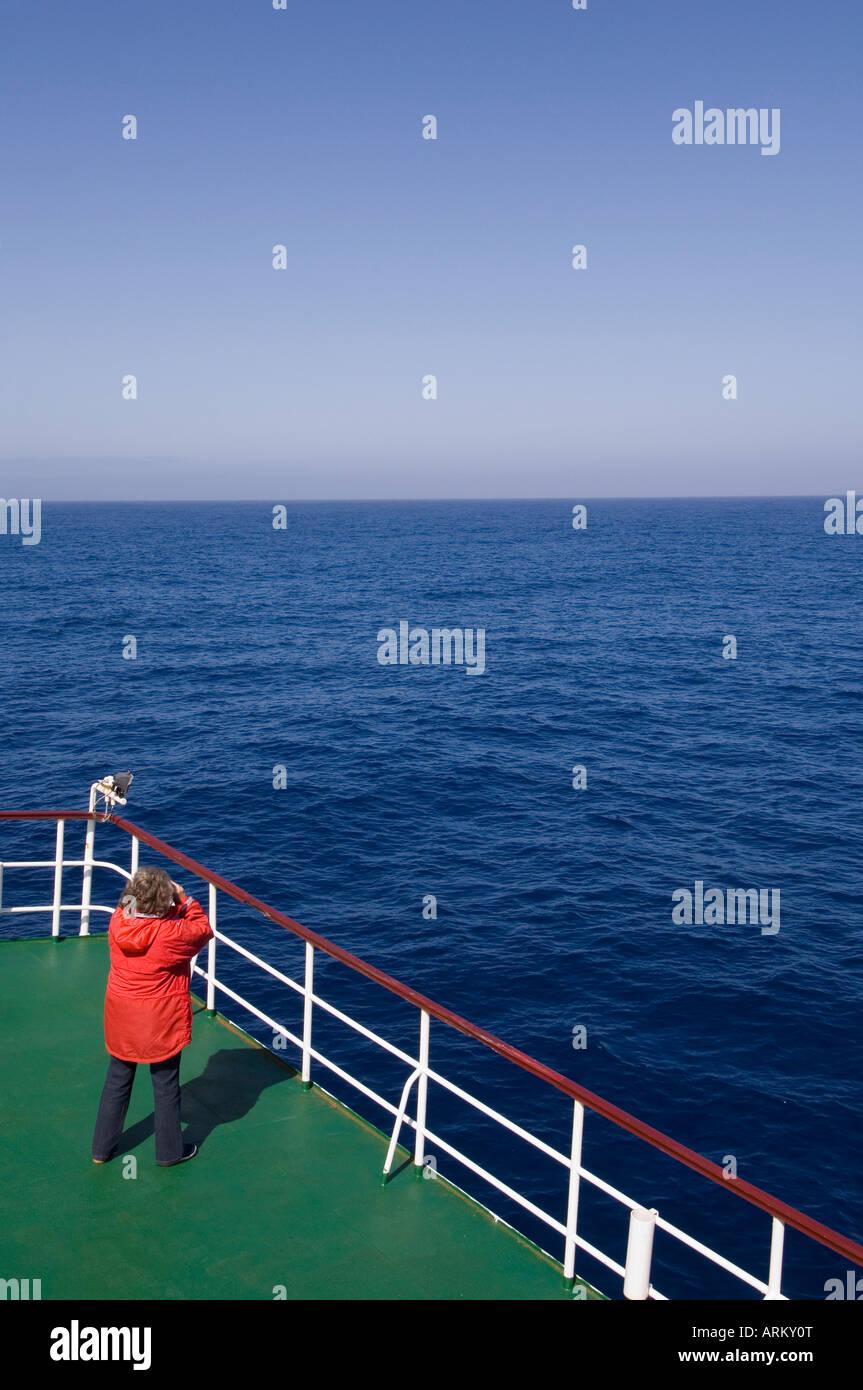 Antartico nave da sogno, Drake passaggio nei pressi di Capo Horn, Sud America Immagini Stock