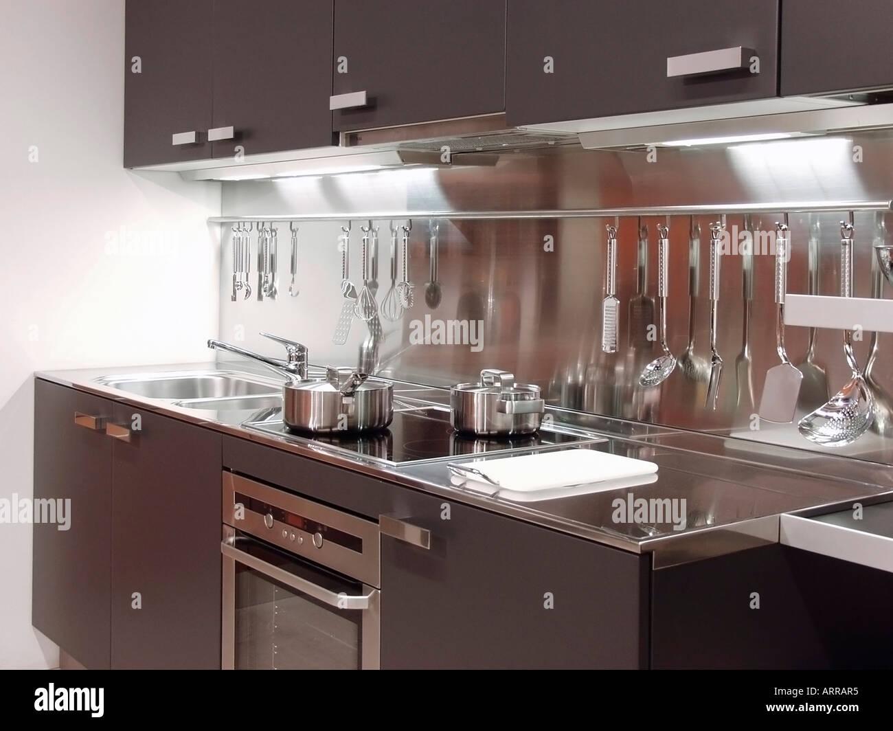 Moderna cucina di fascia alta arredamento showroom Foto & Immagine ...