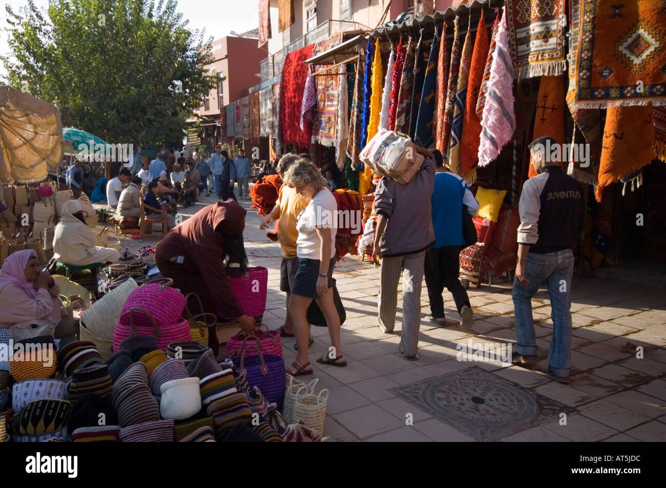 Tappeti Kilim Marocco : Il marocco tappeti tappeti kilim in vendita a marrakech foto