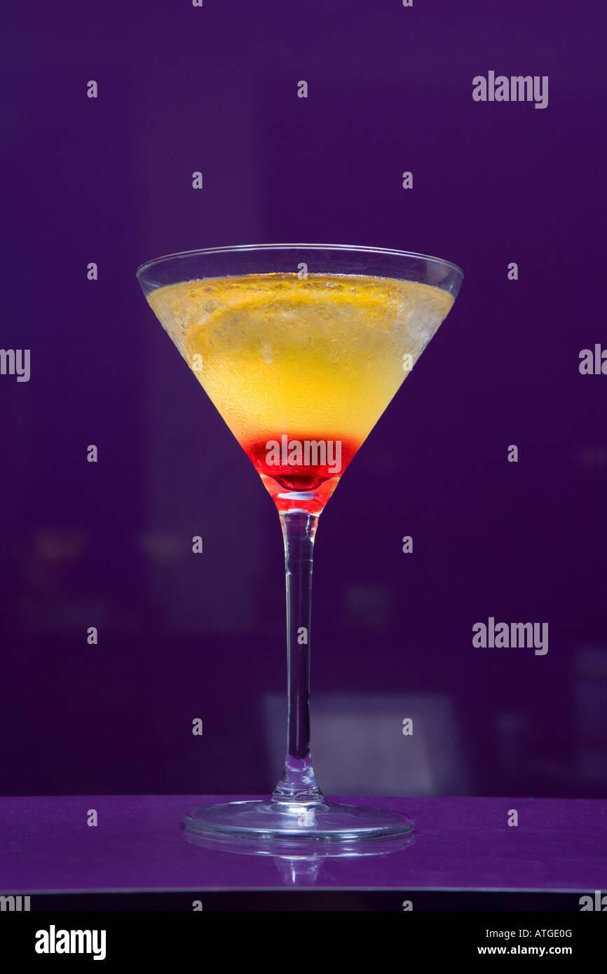 Cocktail in un bar Foto Stock