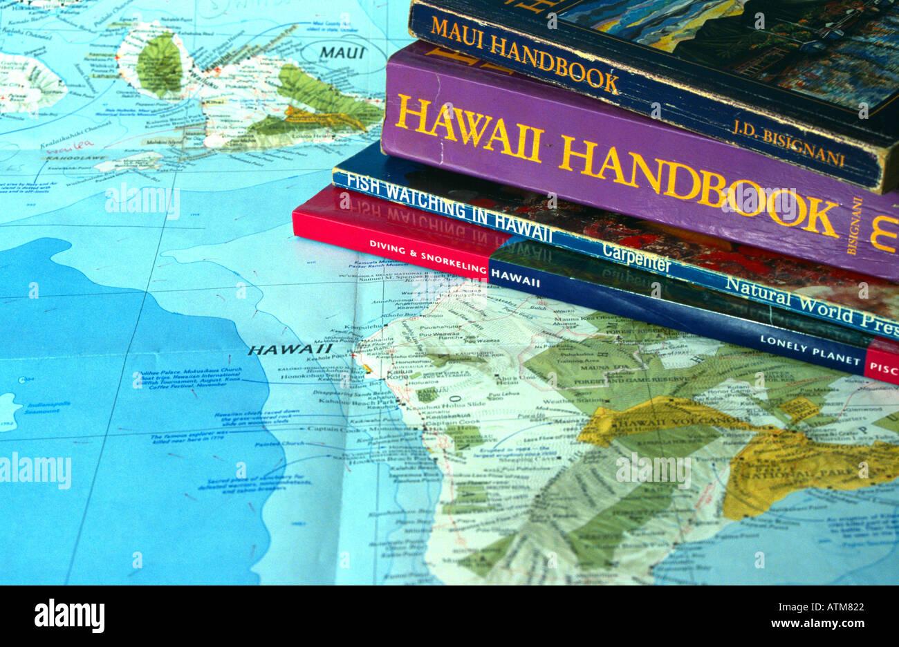 Cartina Mondo Hawaii.Mappa Delle Hawaii Immagini E Fotos Stock Alamy