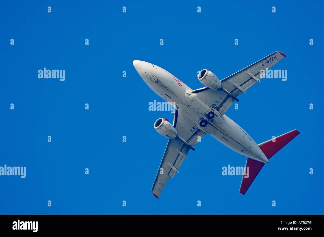 In aereo Immagini Stock