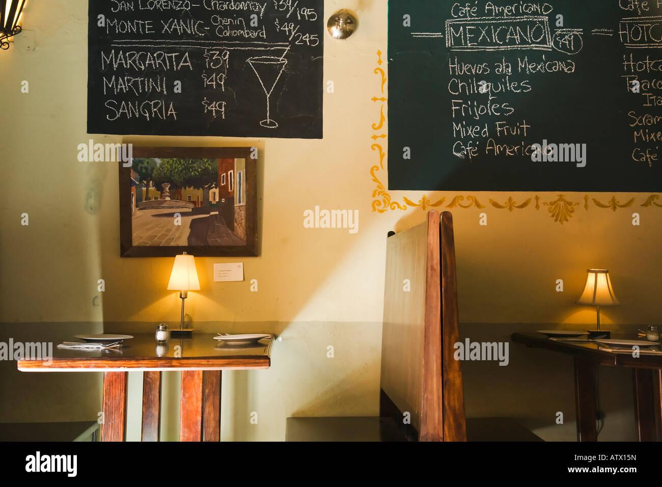 Parete Di Lavagna Prezzo : Messico guanajuato menu per bevande e alimenti su lavagna sul